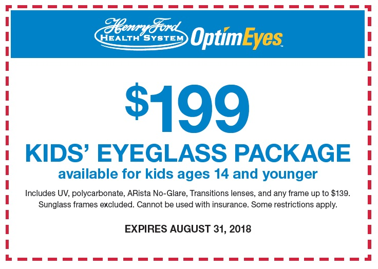 Kids Eyeglass Package