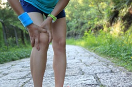 athlete with referred knee pain