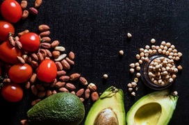 avocados and nuts