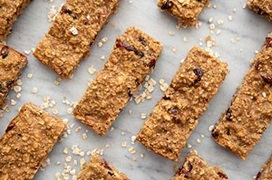 cranberry oat soft baked granola bars recipe