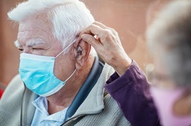 hearing aids and masks