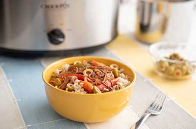slow cooker spanish beef