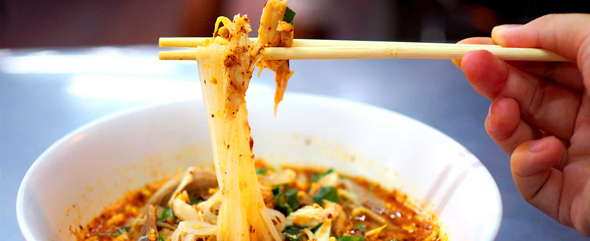 spicy foods noodle bowl