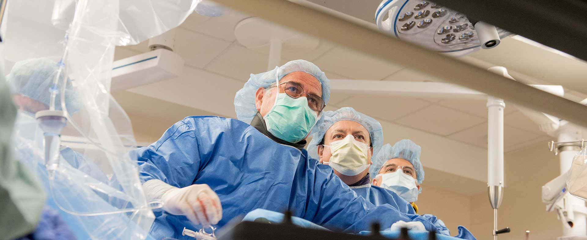 Dr. WIlliam O'Neill and team perform a transcatheter aortic valve replacement or TAVR