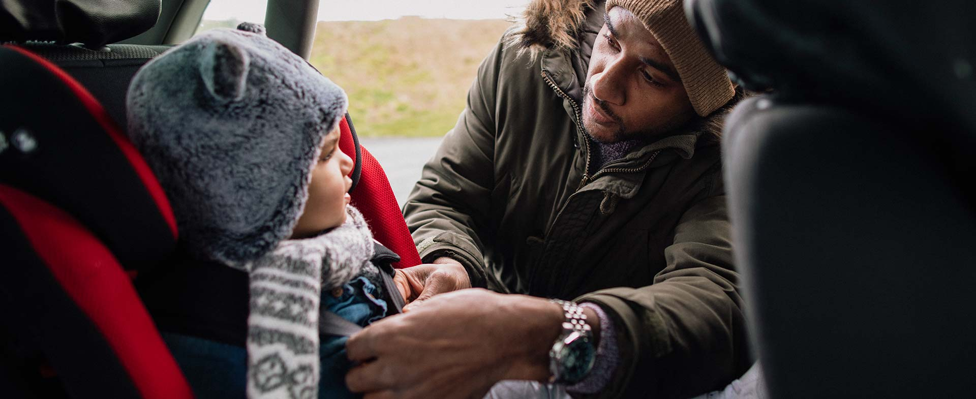 coats and car seat safety