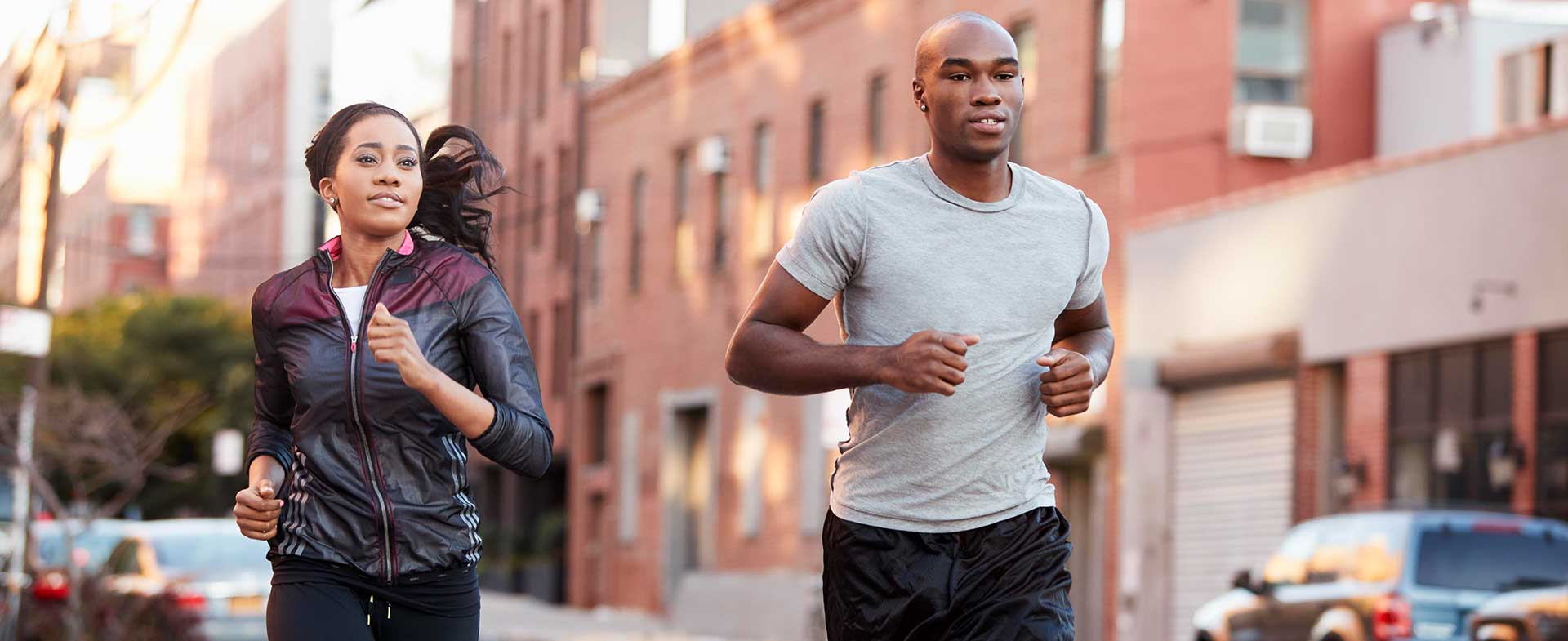 couple running for exercise
