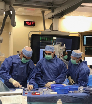 Structural Heart Providers Performing Surgery