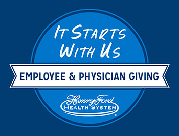 Employee and Physician Giving Logo