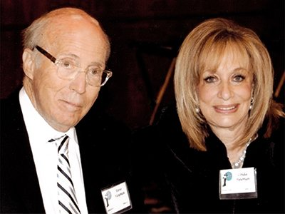 Photo of generous donors Linda and Stephen Hayman