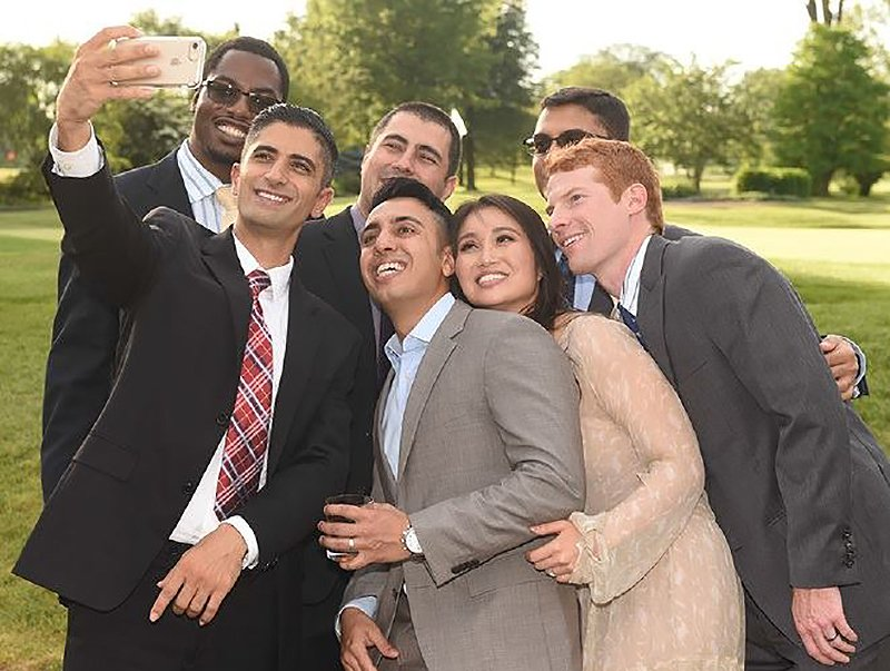 Fellow group selfie