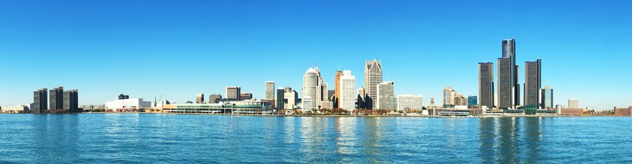 Detroit Skyline for IM Residency