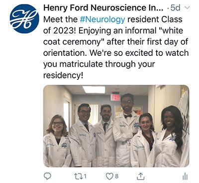 Neurology Residency | Henry Ford Health System