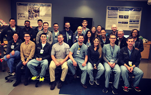 Emergency Medicine Staff at Wyandotte Group Shot