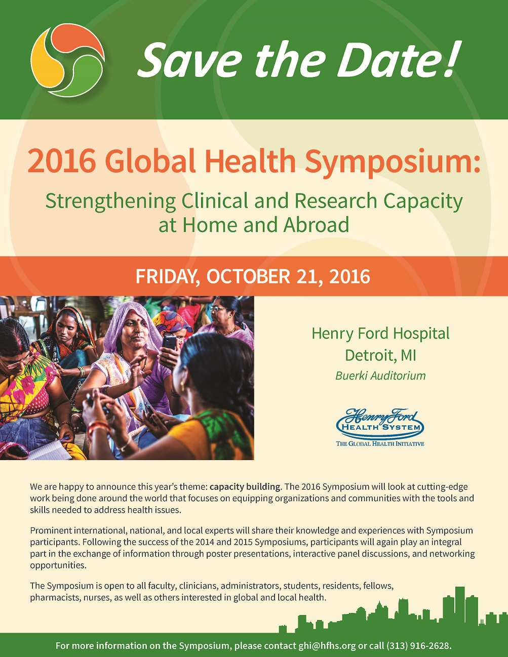 2016 GH Symposium Save the Date