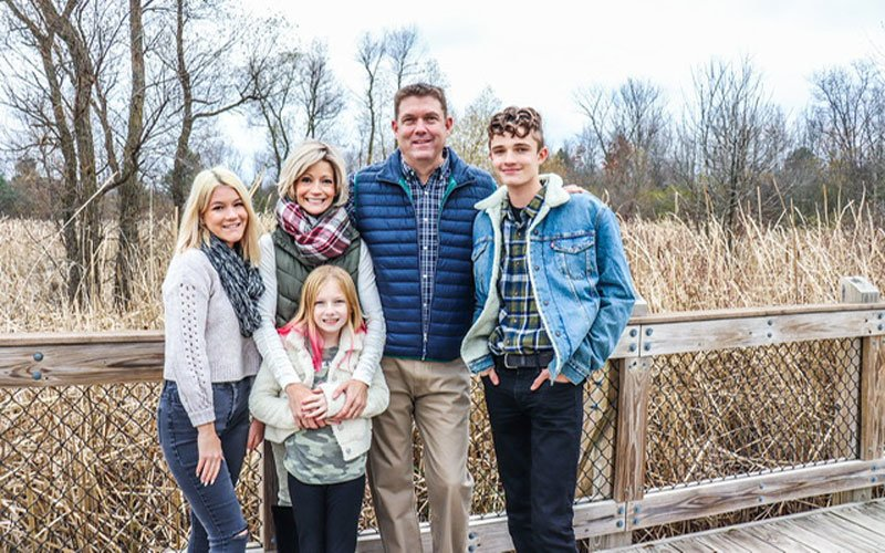 kate white with family