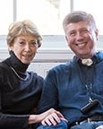 thyroid cancer patient john koke and his wife