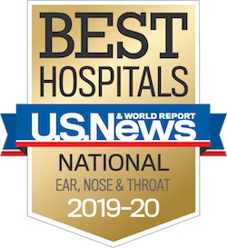 US News Award Ear Nose and Throat 2017