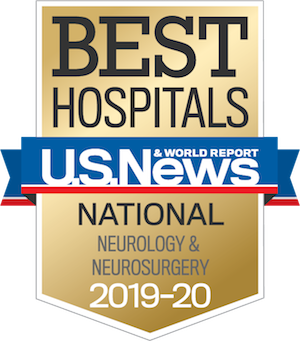 US news high perfroming hospital in neurology