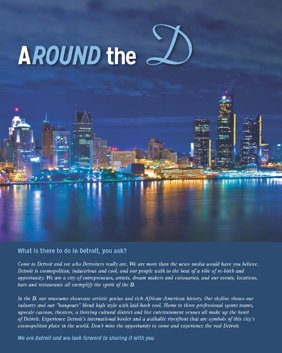 Cover for Around the D brochure
