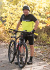 weight management patient mark hofman with his bike