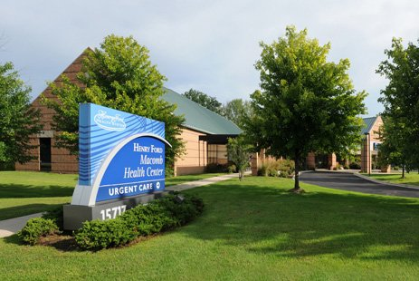 henry ford macomb health center fraser