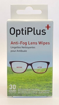 OptimPlus Anti-Fog Lens Wipes